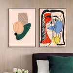 Scandinavia Abstract Love Art Canvas Poster