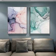 Marble Abstract wall art canvas poster