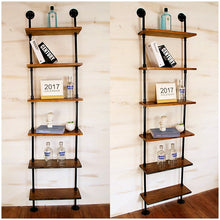 Archi Industrial Retro Wall Shelf and Bookshelf - Home Interiors By Archi