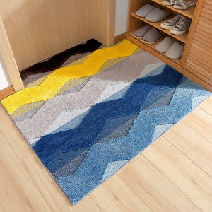 Archi Leisure Series Geometric Design Bath Mats