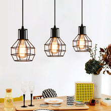 Modern Iron Cage Ceiling hanging Lights - Premium Light Fixtures by Archi