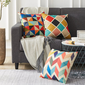 Archi geometric Decorative Cushion Cover - Premium Interior ideas