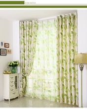 Archi Korean Garden Print Curtains for Living Room - Country Home Decor ideas and Modern Interior Curtains