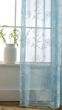 Archi Gradient Voile Curtains for Living Room - Apartment Interior Ideas and Vintage Curtains for Windows