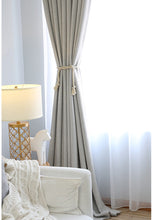Archi Luxury Blackout curtain drapes for Bedroom and Living - Rustic Home Decor and Modern Drop Curtains