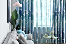 Archi Geometric Circle Blackout Curtains for Living Room - Apartment Interior Ideas and Vintage Curtains for Windows