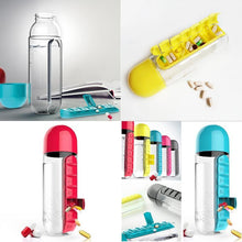 Archi Water Bottle with pills medication organizer - Premium Kitchen products