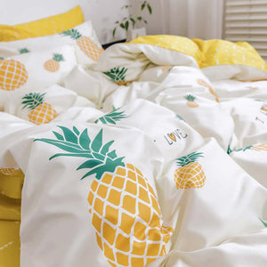 Vibrant Color Duvet Bedding Set