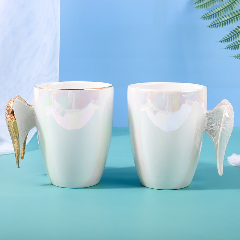 Angel Wings Ceramic Tea Mugs Premium Drinkwares