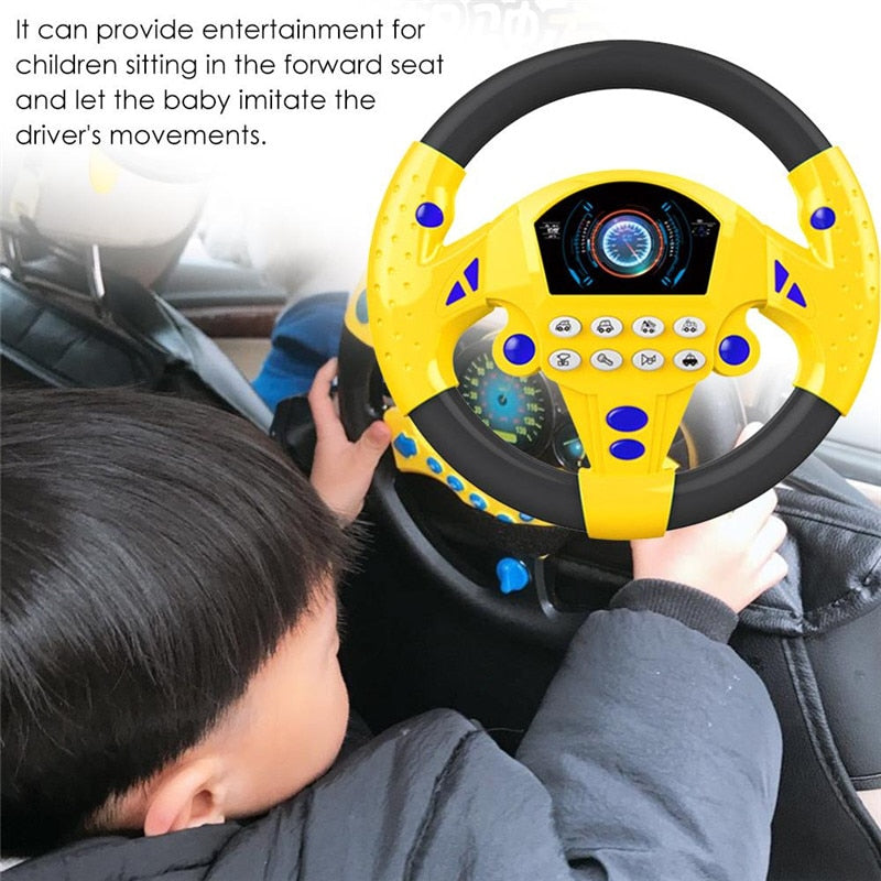 Toy Steering Wheel For Car