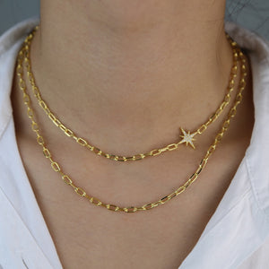 Double Layer Fashion Choker Necklace for women