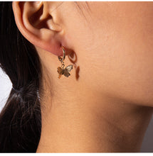 Cute Butterfly Pendant Necklace and Earring for Women
