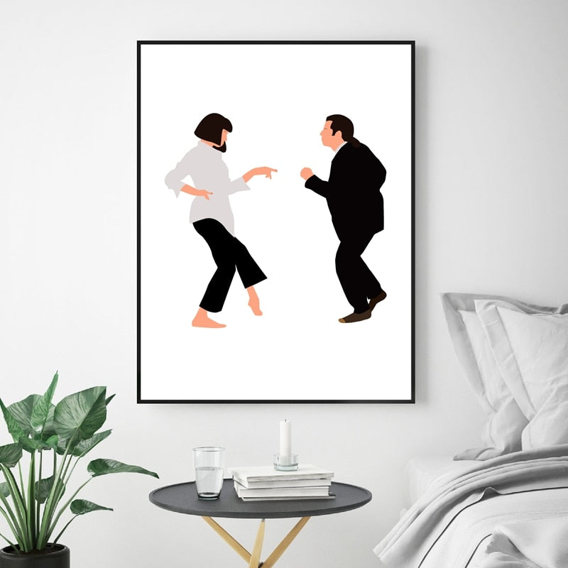 Pulp Fiction wall art canvas poster