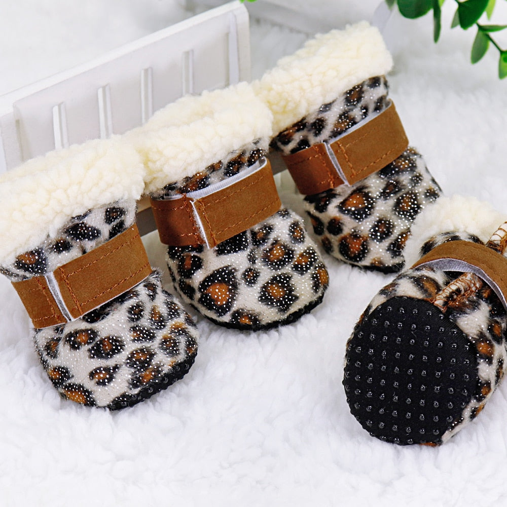 4pcs Dog Shoes - Dog Booties