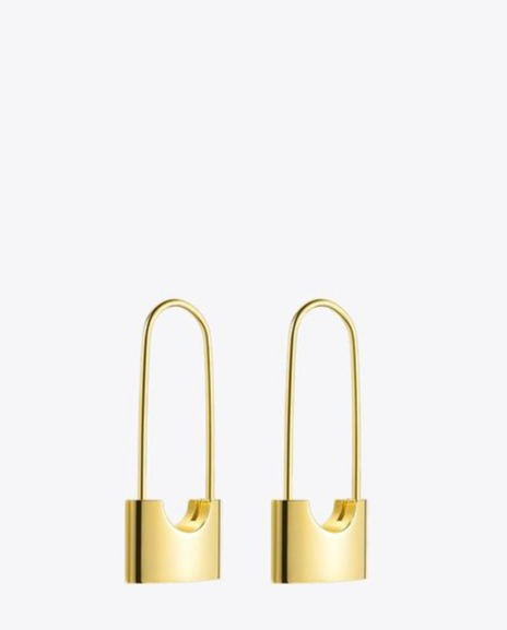 Modern Lock Fashion Earrings for Women