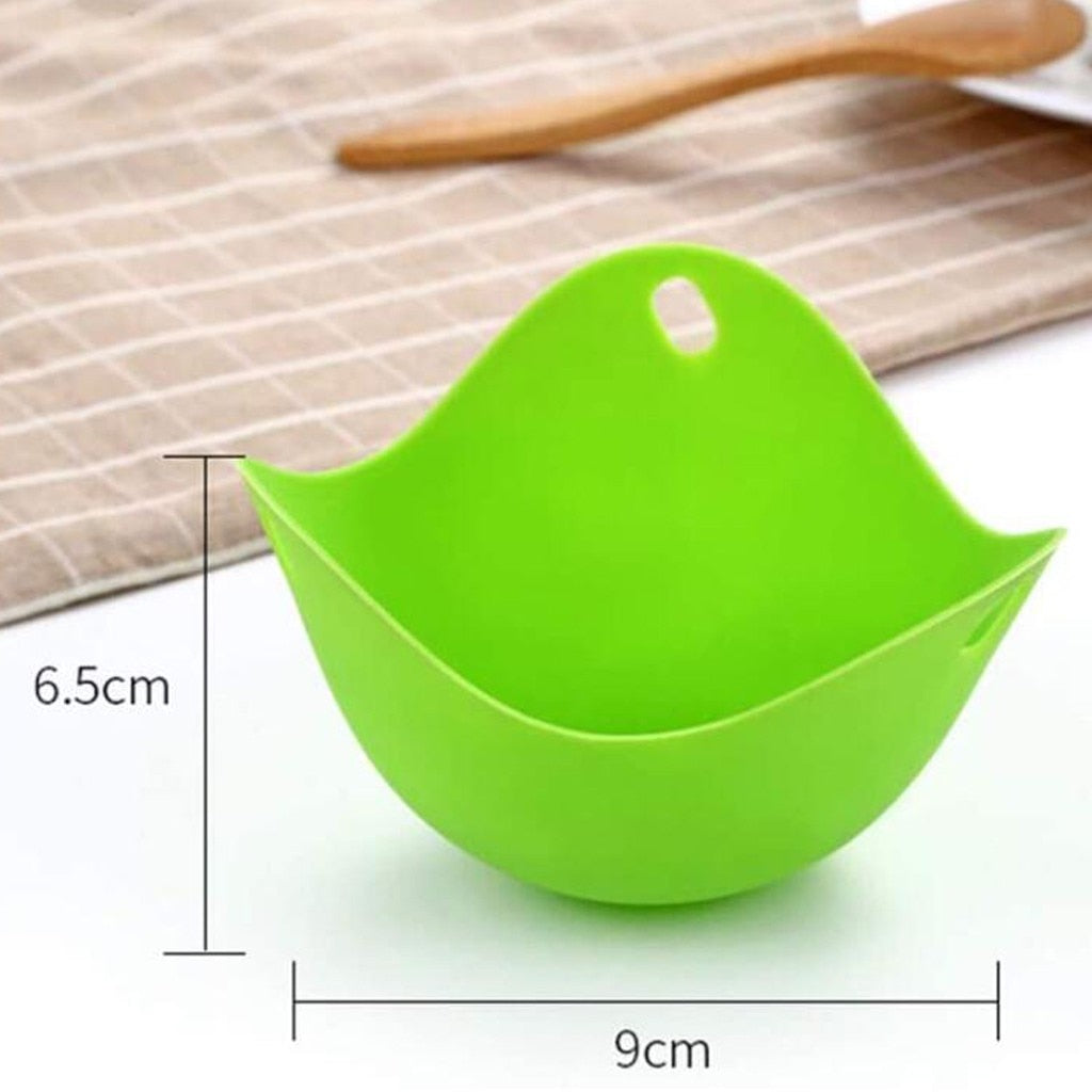 4 PCs Silicone Poached Egg Cups