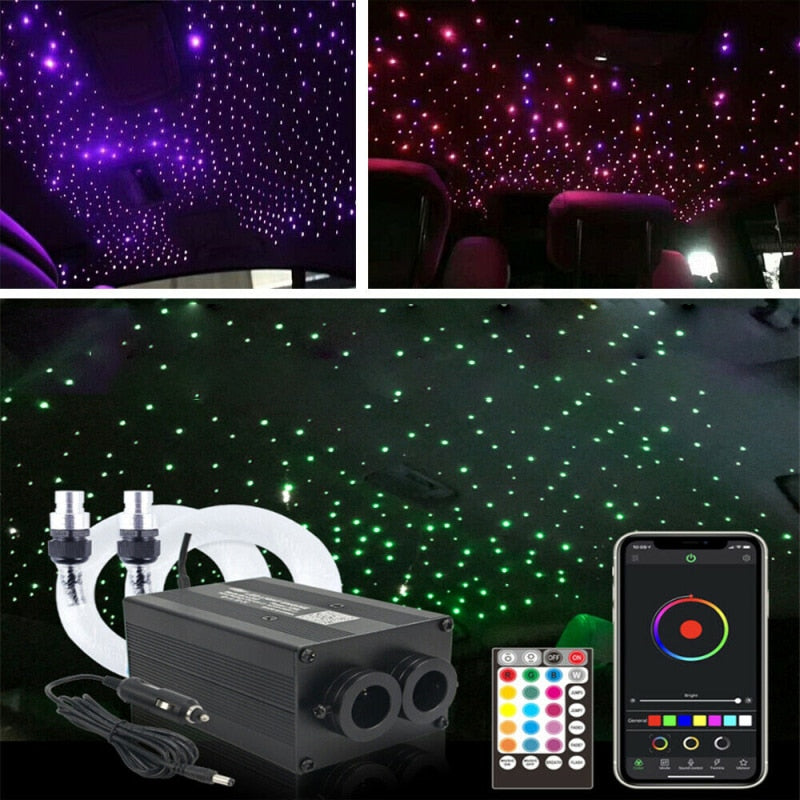 12V Star Light Headliner for Car