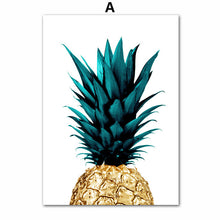 Stay Gold Pineapple Wall Art