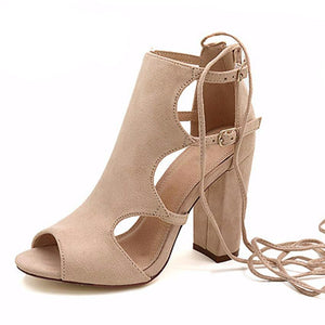 Cut-out Sandal