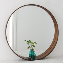 Wall Mounted wooden Mirror
