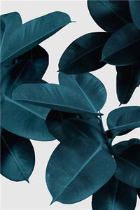 Abstract Plant Wall Art