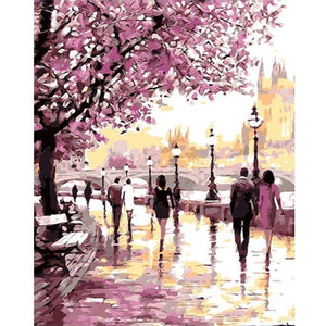 Cherry Blossoms Wall art canvas poster