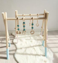 Nordic Wooden Baby Play Gym Toys