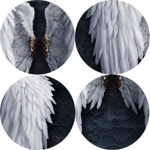 Angel Wings Wall Art Canvas Prints