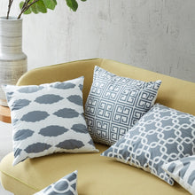 Archi geometric grey cushion covers - Exquisite Home Decor