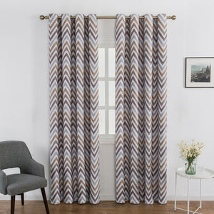 Archi Blackout wave curtains - Rustic Home Decor and Modern Drop Curtains