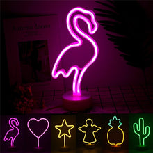 Neon Night Light ornaments