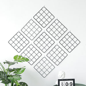 2 PCS Decorative Storage Rack Grid