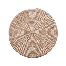 Archi Stripped Round Rug Mat for Living Room - Spring Refreshing Living Room Decor and Interior Design