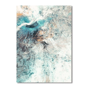 Simplicity Abstract redefined wall art canvas poster