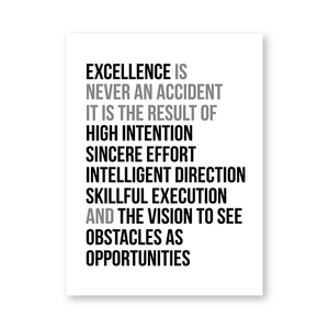 Archi Inspirational Saying Typography Poster - Exquisite Home Interiors