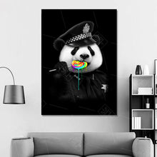 Panda wall art Canvas Painting