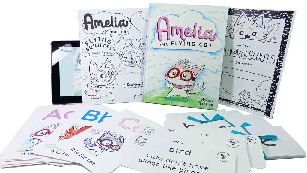 The Amelia Reading Collection Gift Set - Fables & Fauna