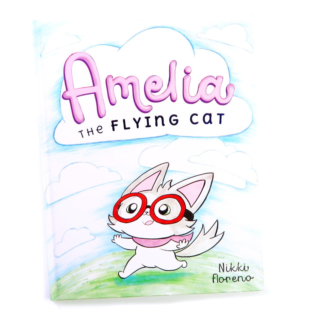 Amelia the Flying Cat - Children's Book about Not Giving Up [Includes ebook!] - Fables & Fauna