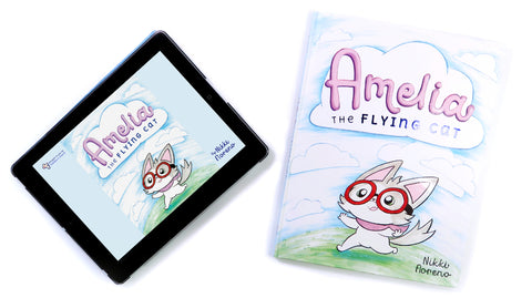 Amelia the Flying Cat Children's Book [BONUS: Includes ebook!]