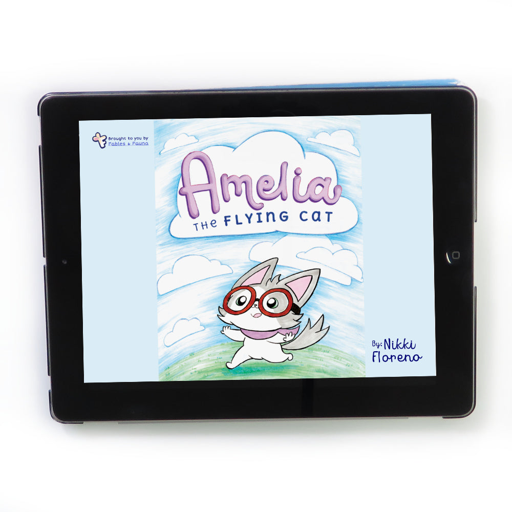 Amelia the Flying Cat E-Book - Fables & Fauna