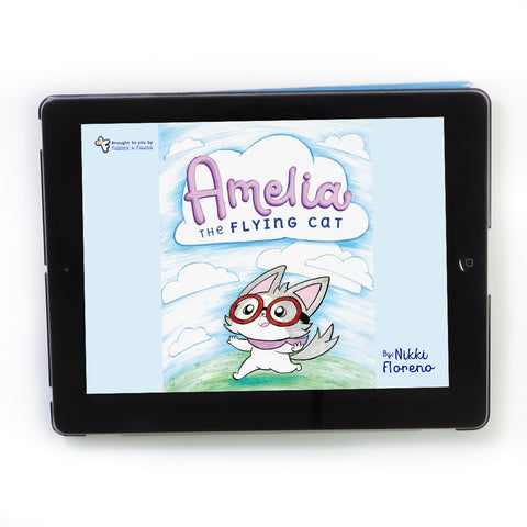 Amelia the Flying Cat E-Book