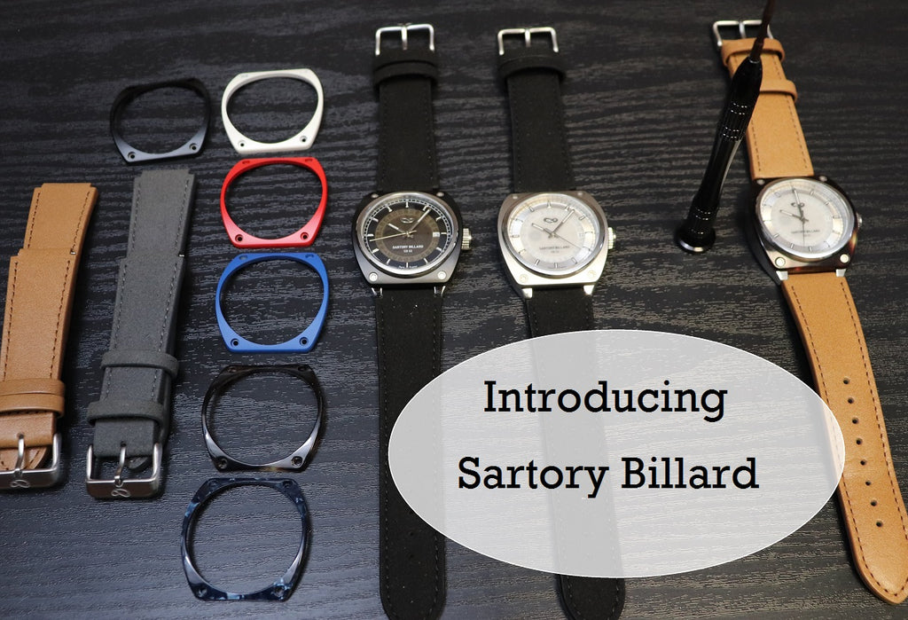 One watch, Many Looks!  The Sartory Billard SB02