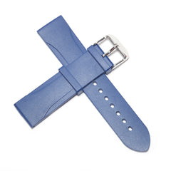 22mm Natural Rubber Strap - Blue
