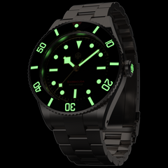 Barracuda Vintage Black with Date