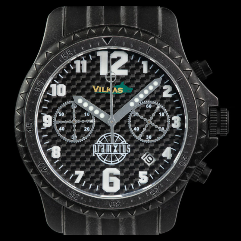 Iron Wolf Carbon Fiber Military Chronograph