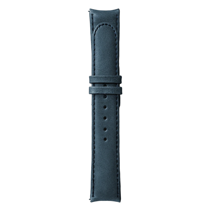 Essence Blue Leather Strap (without buckle)