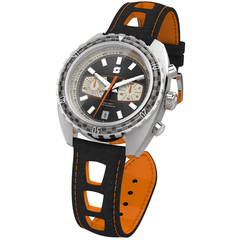 Straton Syncro Black - 44mm