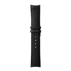 Essence Black Leather Strap (without buckle)