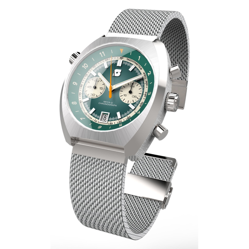 Straton Curve Chrono Green - 39.5mm