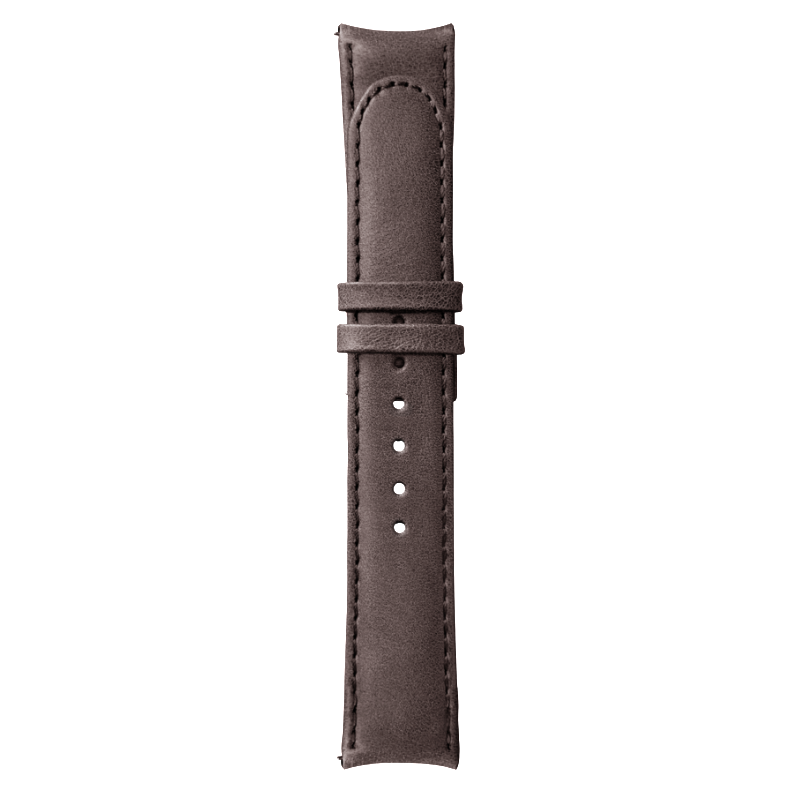 Essence Brown Leather Strap (without buckle)